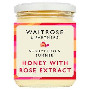 Waitrose Honey with Rose Extract