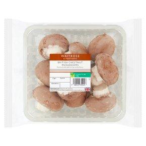 Waitrose Chestnut Mushrooms