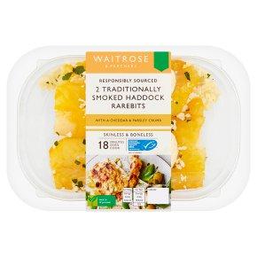 Waitrose 2 Traditionally Smoked Haddock Rarebits