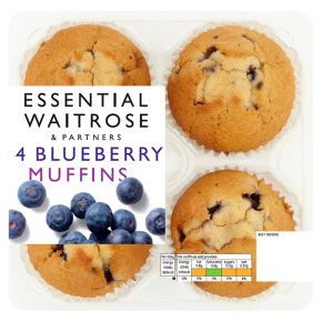 Essential 4 Blueberry Muffins