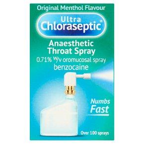 Ultra Chloraseptic Throat Spray