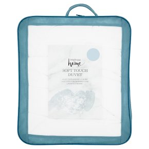 John Lewis Synthetic Soft Touch Washable Duvet, 13.5 Tog, Single
