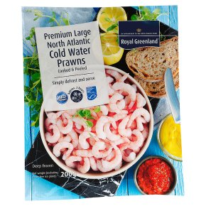 Royal Greenland Large North Atlantic Cold Water Prawns