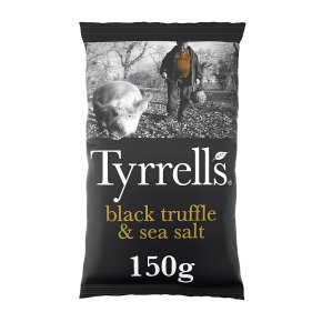 Tyrrells Black Truffle & Sea Salt Crisps