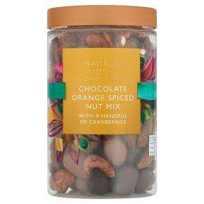 Waitrose Christmas Chocolate Orange Spiced Nut Mix