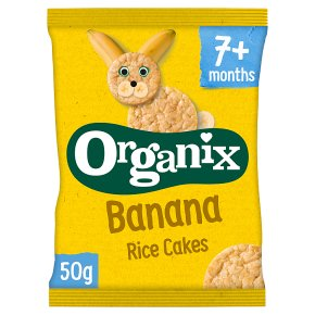 Organix Banana Baby Finger Rice Cakes
