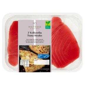 No.1 2 MSC Yellowfin Tuna Steaks