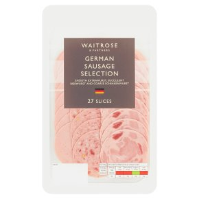 Waitrose German Sausage Selection 27 slices