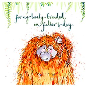 Lovely Grandad Fathers Day Card