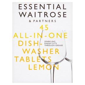 Essential 45 Dishwasher Tablets Lemon
