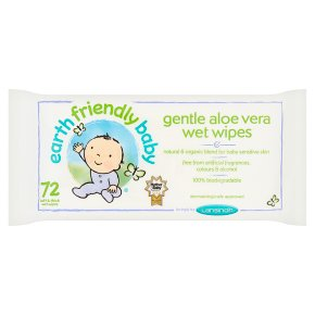 Earth Friendly Aloe Vera Baby Wipes
