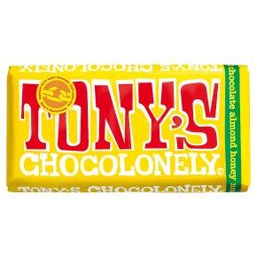 Tony's Chocolonely Milk Almond Honey Nougat