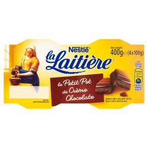 La Laitière Crème au Chocolat