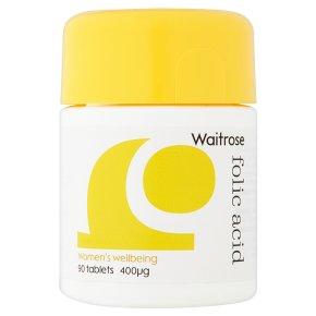 Waitrose Folic Acid