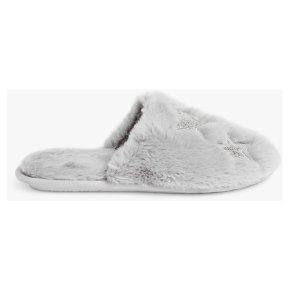 John Lewis Applique Star Grey Mule L