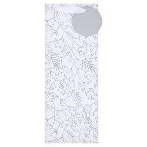 Silver Mistletoe Bottle Bag