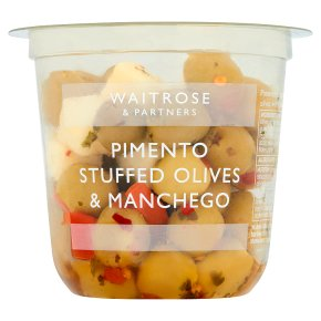 Waitrose Pimento Stuffed Olives & Manchego