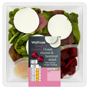 Waitrose Goats Cheese & Beetroot Salad