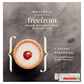 Waitrose Free From 4 Cherry Bakewells