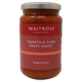 Waitrose Tomato & Tuna Pasta Sauce
