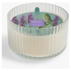 John Lewis Lavender Multi Wick Candle