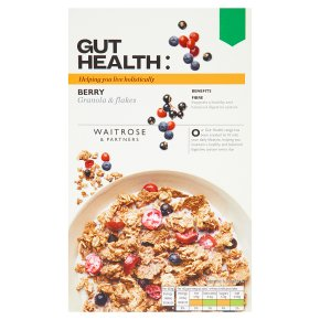 Waitrose Gut Health Berry Granola & Flakes
