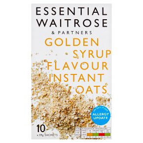 Essential Golden Syrup Instant Oats