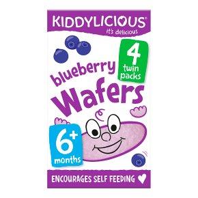 Kiddylicious Blueberry Wafers