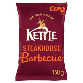 Kettle Chips Steakhouse Barbecue