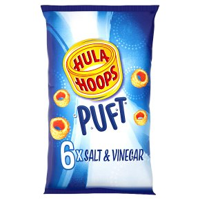 Hula Hoops Puft Salt & Vinegar