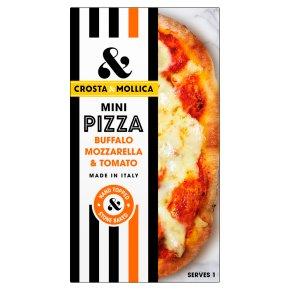 Crosta & Mollica Buffalo Mozzarella & Tomato Mini Pizza