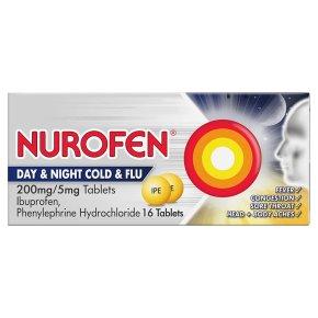 Nurofen Day & Night Cold & Flu Tablets