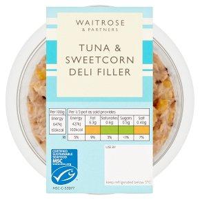 Waitrose Tuna & Sweetcorn Deli Filler MSC