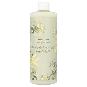 Waitrose Heritage Orchid Bubble Bath