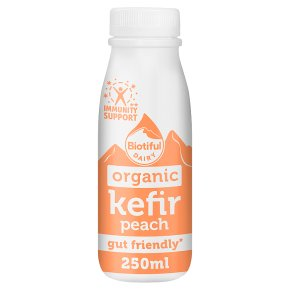 Biotiful Dairy Organic Kefir Peach