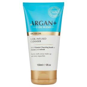 Argan+ Argan Oil Infused Cleanser