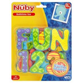 Nûby Bath Letters Numbers