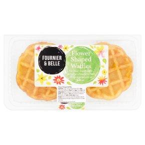 Fournier & Belle Flower Shaped Waffles