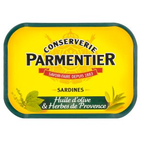 Parmentier Sardines in Oil with Herbs de Provence