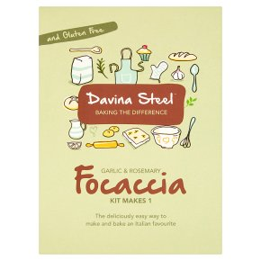 Davina Steel Garlic& Rosemary Foccacia