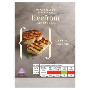 Waitrose Lactose Free Cypriot Halloumi Strength 1