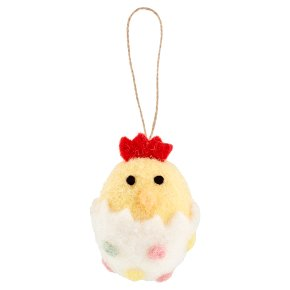 Waitrose Easter Chick Hanging Decoration