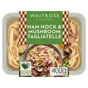 Waitrose Italian Ham & Mushroom Tagliatelle