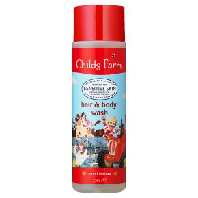 Childs Farm Hair & Body Wash Orange