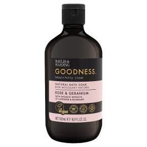 Goodness Rose & Geranium Bath Soak