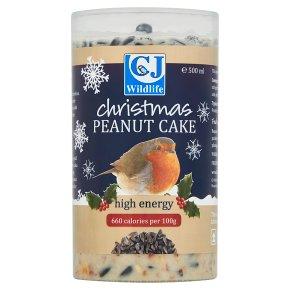 CJ Wildlife Christmas Peanut Cake