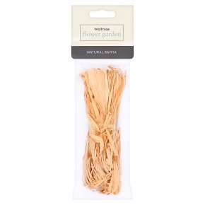 Waitrose Garden Natural Raffia