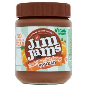 Jim Jams Vegan Dark Chocolate Orange Spread
