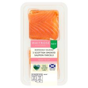 Waitrose 2 Scottish Smoked Salmon Parcels