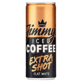 Jimmy's Iced Coffee Extra Shot Flat White